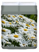 Dizzy With Daisies Duvet Cover