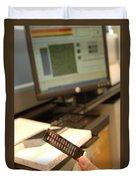 Dna Microarray Duvet Cover