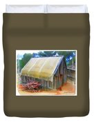 Do-00069 Small Hut Duvet Cover