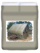 Do-00070 Small Cabin Duvet Cover