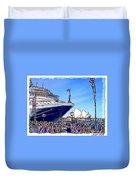 Do-00100 A Ship And Opera House Duvet Cover
