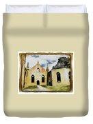 Do-00247 Church At Port Arthur Duvet Cover