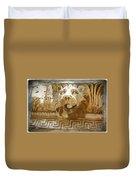 Do-00313 Lion Water Feature Duvet Cover