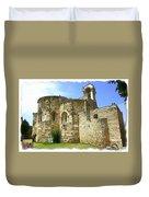 Do-00344 Church Of St John Marcus In Byblos Duvet Cover