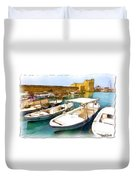 Do-00350 Byblos Port Duvet Cover