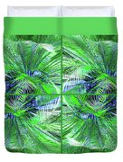 Do You Like Green? Duvet Cover