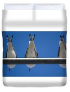 Do You See Humans? Duvet Cover
