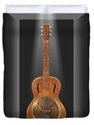 Dobro In A Box Duvet Cover by Mike McGlothlen