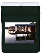 Dock Reflections Duvet Cover