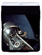 Docked Apollo 9 Command And Service Duvet Cover