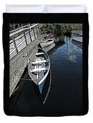 Dockside Quietude Duvet Cover
