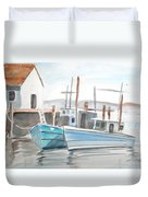 Dockside Duvet Cover