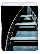 Dockside Skiff Duvet Cover