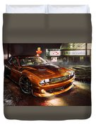 Dodge Challenger R T Duvet Cover