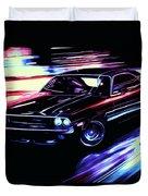 Dodge Challenger Rt 1970 Duvet Cover