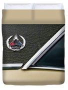 Dodge Challenger Se Classic Car Duvet Cover