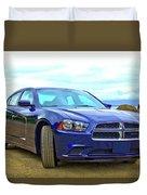 Dodge Charger Duvet Cover