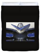 Dodge Custom Royal V8 Hood Ornament Duvet Cover