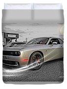 Dodge Hellcat Duvet Cover