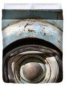Dodge Pickup - Flat Tire Duvet Cover