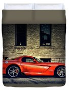 Dodge Viper Duvet Cover
