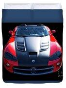 Dodge Viper Roadster Duvet Cover