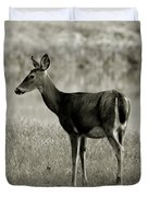 Doe By The Waters Edge Duvet Cover