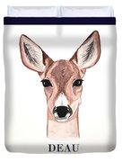 Doe Deer Duvet Cover