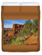 Doe Mountain Trail Duvet Cover
