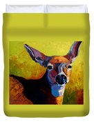 Doe Portrait V Duvet Cover