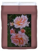 Does Roses Has Thorns Or Does Thorns Has Roses Duvet Cover