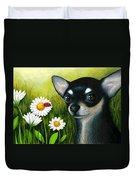 Dog 79 Chihuahua Duvet Cover