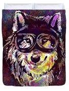 Dog Funny Cheeky Cap Animal Wild  Duvet Cover