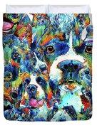 Dog Lovers Delight - Sharon Cummings Duvet Cover