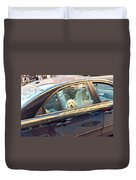 Dog On The Move Duvet Cover