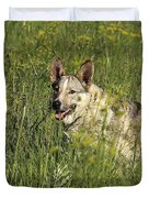Dog Portrait Duvet Cover