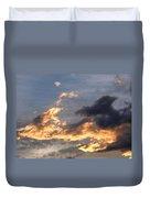 Dog Race Cloudscape 1 Duvet Cover