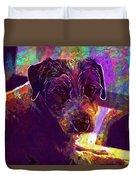 Dog Terrier Russell Pet Animal  Duvet Cover
