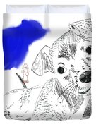 Doggie Dreams Duvet Cover