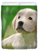 Doggie Seems Sad Duvet Cover