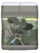 Doggie Side Duvet Cover