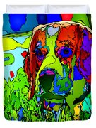 Dogs Can See In Color Duvet Cover