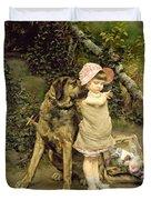 Dog's Company Duvet Cover by Edgard Farasyn