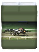Dogs Racing Duvet Cover