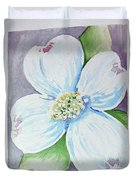 Dogwood Bloom Duvet Cover