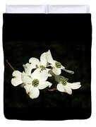 Dogwood Blooms Duvet Cover