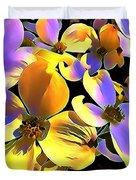 Dogwood Blossoms Duvet Cover