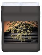 Dogwood Cabin, Smoky Mountains, Tennessee Duvet Cover