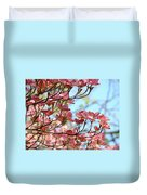 Dogwood Flowering Trees Pink Dogwood Flowers Baslee Troutman Duvet Cover
