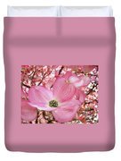 Dogwood Tree 1 Pink Dogwood Flowers Artwork Art Prints Canvas Framed Cards Duvet Cover